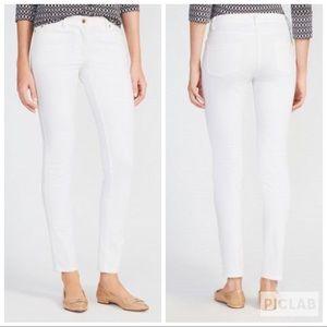 New J. McLaughlin White Skinny Jeans Lexi Jeans 0